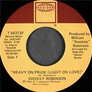 Smokey Robinson - Heavy On Pride (Light On Love) / I Love The Nearness Of You FLAC
